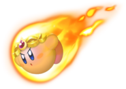 Burning Kirby KDL3D