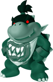 Dark Green Bowser Jr.