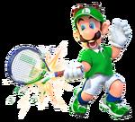 Luigi Aces Transparent