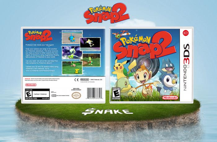 Nintendo 3ds Pokemon Games : Pokémon snap ds fantendo nintendo fanon wiki fandom powered
