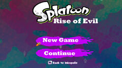 Rise of Evil Menu 1