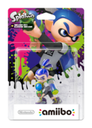 Amiibo - Splatoon - Inkling Boy - Box