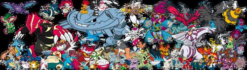 Samtendo's Favorite Pokemon Team