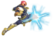 0.9.Captain Falcon using the Knee of Justice
