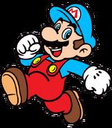 2D Ice Mario