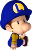 ACL - SSBSwitch recolour - Baby Luigi 3
