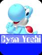 Cyan Yoshi MR