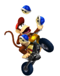 Diddy Kong Bike1