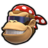 Funky Kong MKSR Icon