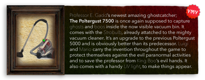LM3 Item Info - Poltergust 7500