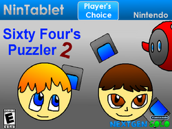 Sixty Four's Puzzler 2 Case (Player's Choice)