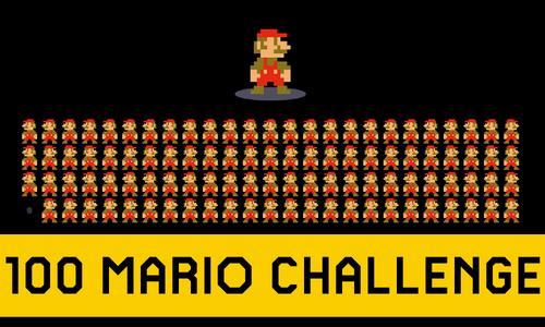 100MarioChallengeTitleCard