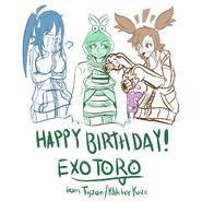 Exo's Birthday Present (by Tigz-KlitcherKaze)
