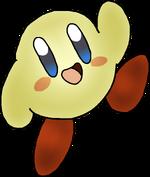 KirbyNovaZoo SprayPaint Avocado