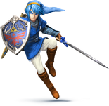 Link smash th blue