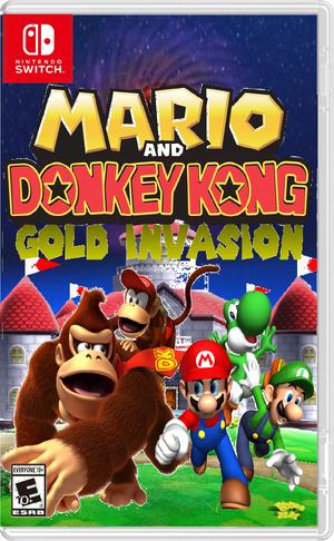 Mario and Donkey Kong - Gold Invasion