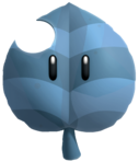 Statue Leaf Super Mario