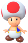 Toad - Mario Partyd