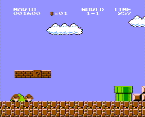 NES Super Mario Bros