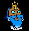 Poseidon Mask