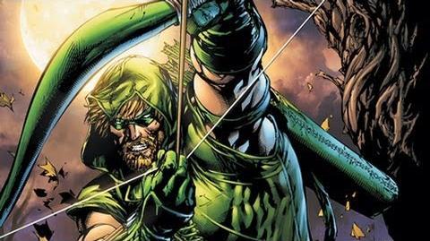 Superhero Origins Green Arrow