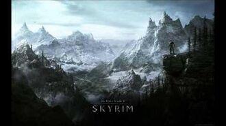 TES V Skyrim Soundtrack - A Winter's Tale-2