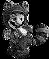 Tanooki Mario Statue