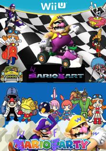Wario Fart & Wario Farty game box