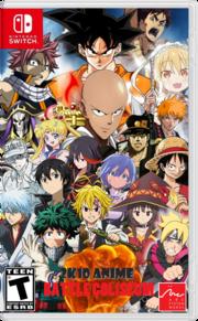 2K10 Anime Battle Coliseum NS Cover