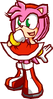 Amy Rose Sonic Battle