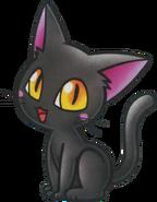 Black Cat Artwork - Wario Land 4