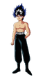Character - Hiei, Shirtless-1