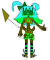 Goldette transparent