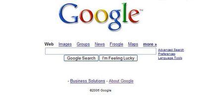 Google main
