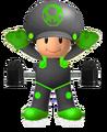 Robo green Toad