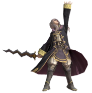 2.5.Female Robin raising her Hand
