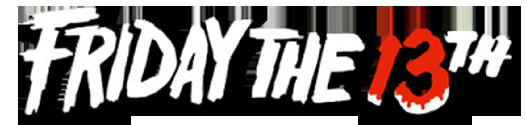 Výsledek obrázku pro friday 13th logo png