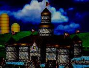 Peach's castle SSBB Dark