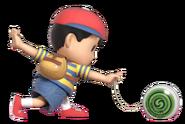0.8.Ness preparing his Yo-Yo