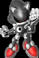 Silver Metal Sonic