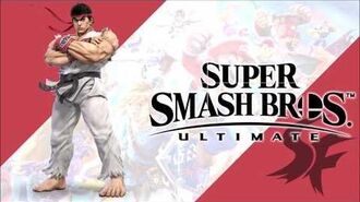 Victory! Street Fighter Series Super Smash Bros. Ultimate