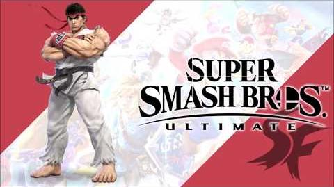 Victory! Street Fighter Series Super Smash Bros