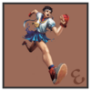 JSSB character preview icon - Sakura