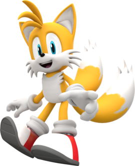 Miles tails prower colours pose by mintenndo-d6jnvdj