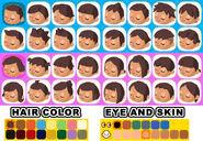 ACSS Eye, Skin, Hair