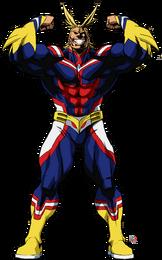 All Might Hero Form Full Body