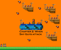 Chapter 2 - When Shy Guys attack