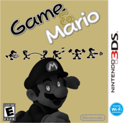 Game&Mario boxart