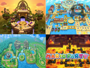 Mario Party Stage Sonic775