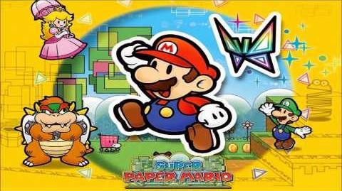 Mine Cart GO (Super Paper Mario)